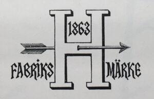 Hagafors Stolfabriks logotyp 1898